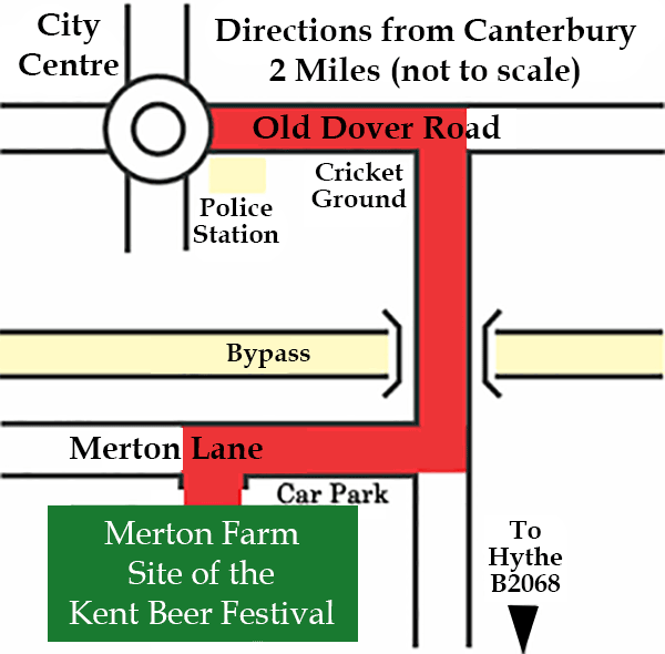 Directions to the festival